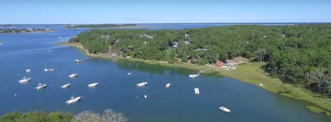 The waterways that 10 Cove Hill sits upon- Frost Fish Creek out to Pleasant bay- adventure awaits you right from your...