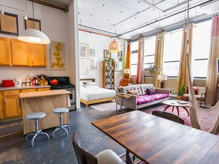 Eclectic Loft in the Heart of Williamsburg