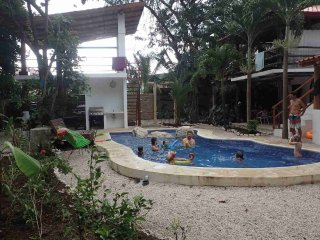 Villa Selva- A perch above with pool, jungle and a walk to the beach