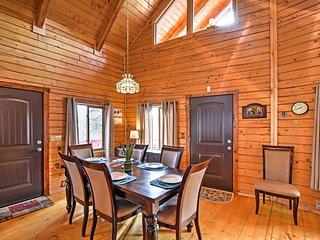 Cabin w/ Large Deck + Sangre de Cristo Mtn Views!