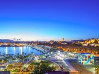 Panorámico apt 1dorm amplio Malagueta Playa, WIFI