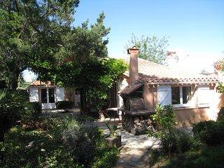 Villa sans vis a vis,climatisee,au calme,jardin,BBQ,proche plage et golf