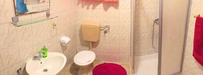 A4(3+1): bathroom with toilet