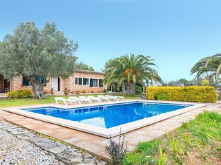 ES MOLI DE SALQUERIA - modern villa in Santa Eugenia for 6 people