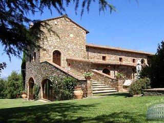 Villa in Tuscany : Grosseto Area Villa Pozzi, Cinigiano