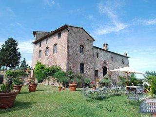 Villa in Tuscany : Siena / S. Gimignano Area Villa Abate 12 People, Chiusdino