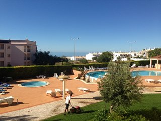 Beautiful gardens and Pool 5-10 minutes walk from the Sea