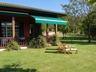 Casa Portinho de Cima is set right above the Tamega river with sensational views