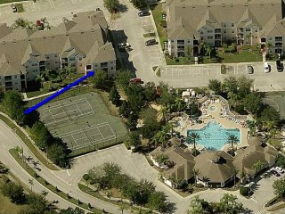 BPW03 : Windsor Palms  Resort Condo, clubhouse!