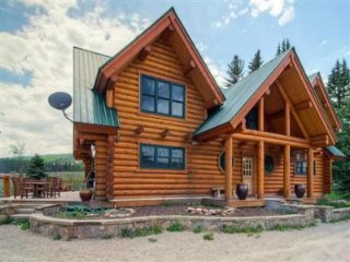 Riverside Log Cabin Home, Located on Three Acres of Land (216039)