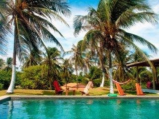 Pousada Villa Jodie bar restaurant piscine vue mer avec jardin et parking voitur, Fortim
