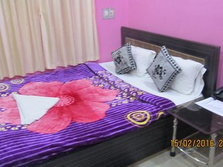 our hotel is very near from airport ,24 hours front desk, 24 hours room service, Kolkata (Calcutta)