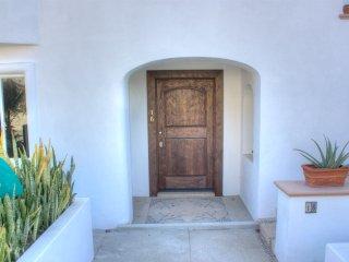 You enter through the front door of Villa 16.