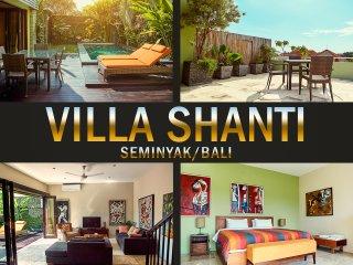 Villa Shanti , Roof-top Lounge Villa in Petitenget