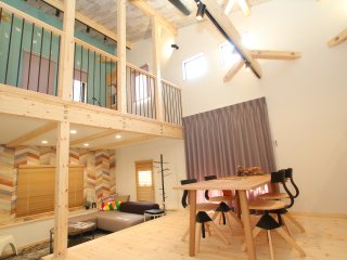 【Secret Base】-Flat House- 2 Parking Lots, Kasuga
