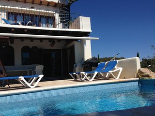 Villa in Ibiza with private pool, Cala Llenya