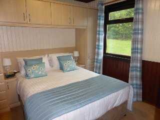 Birch Lodge 19 with Hot Tub - Beautiful lodges situated on Scotland's magnificent West Coast - Birch Plus Lodges, Newton Stewart
