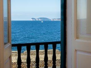 Sea front Alghero town centre