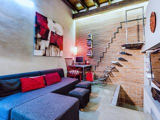 Beautiful design loft in amazing&central location, Rome