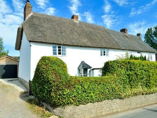 PRIDES  COTTAGE, woodburning stove, pet-friendly, walks from the door, Child Okeford, Ref 953180