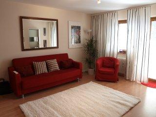 Lounge to balcony windows