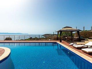 Luxury Villa Kirki with fantastic Sea Views and large private pool, sleeps 10