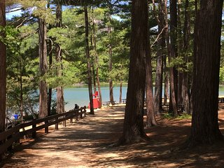 Get ready for summer!! Walk to Echo Lake, North Conway