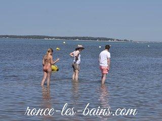 Trés grande maison vacances à la mer - accés direct à la plage, Ronce-les-Bains