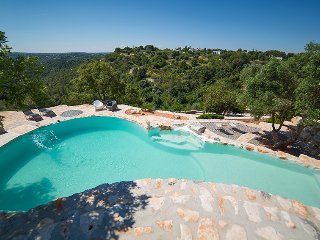 341 Trullo with Pool and Panoramic View in Fasano