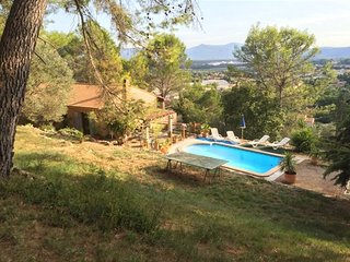 Villa with wonderful city view, Le Cannet-des-Maures