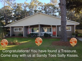 Sandy Toes Salty Kisses B Beach, Golf Tennis Biking and Fun, Jekyll Island