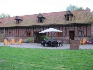 La Roseraie - lovely renovated farm building with spacious grounds - sleeps 8
