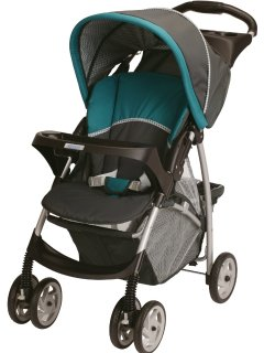 Graco single stroller. Folds easily and great for days at Disneyland and touring Southern California