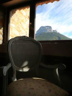 Vistas desde Habitación Peña Montañesa