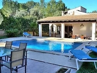 Wonderful house in Son Serra de Marina with pool and garden