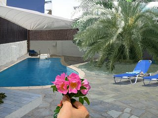 ELIXIR Home, The Softer Side Of Relax in downtown private bedroom/bathroom/pool., Náxos
