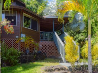 Zen Lite: Well Equipped, Private Studio Home Near Kehena Beach - Great Rate!, Pahoa