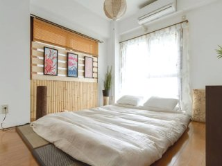 NEW OPEN 2 bedroom 4mins walk to Shin-Osaka station ★no extra cost up to 4 ppl★