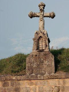 une parmi de nombreuses croix sur la commune