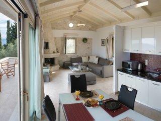 sitting, dining & kitchen - upper level