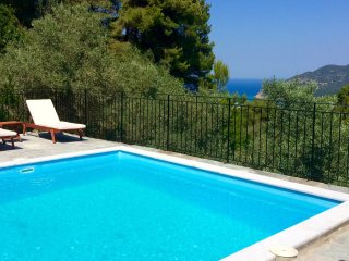 Villa Pinot in Skopelos Island, sea view, tranquil & private pool