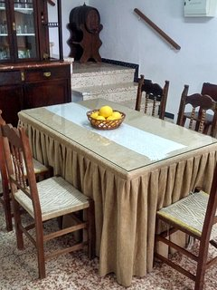 Mesa de la cocina / comedor.