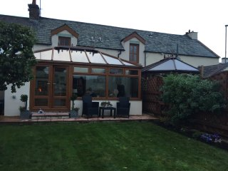 Beckside cottage on the river Eamont close to Penrith Cumbria