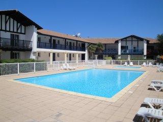 Appt 50m2 avec piscine 1ere Ligne Vue Golf Bassussarry