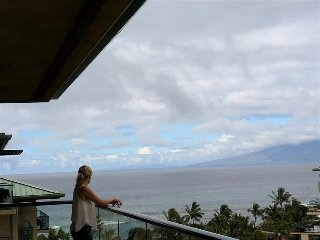 Great Ocean & Mountain Views & Huge Party Lanai! - Honua Kai - Hokulani 836 - 2