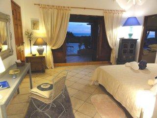 Chambre dans belle villa vue mer a Saint Martin Antilles
