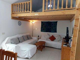 maison jumelée avec terrasses, internet