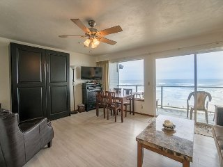 'Surf and Sand' - Enjoy the surf and the sand from this Oceanfront condo!