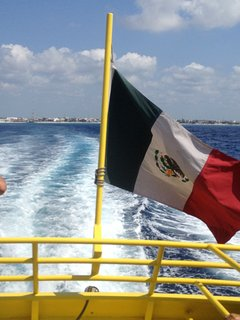 If you go to Playa Del Carmen you can catch the ferry over to Cozumel for the day.