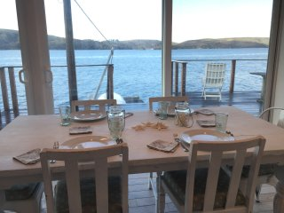 Pristine cottage on Tomales Bay with extreme water views, Marshall